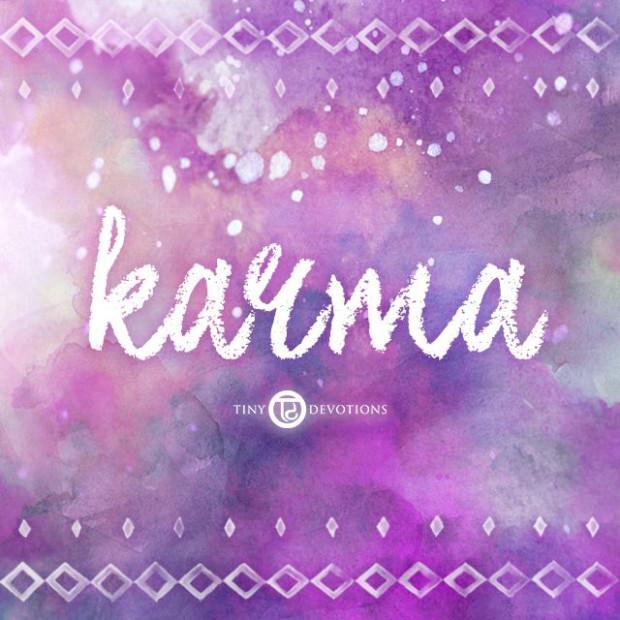 Karma - ditt karmaregnskap